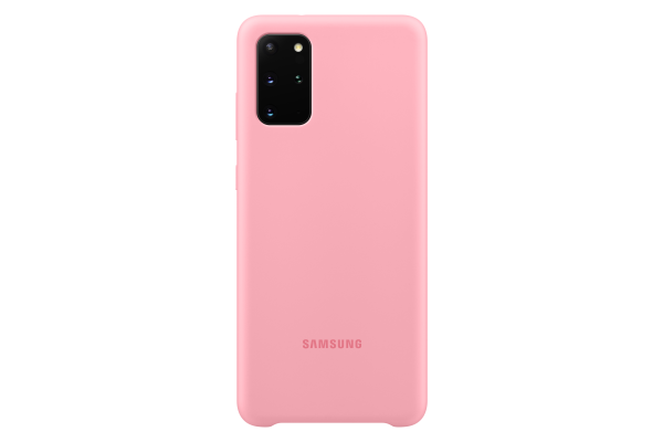 Samsung Galaxy S20+ Silicone Cover Pink
