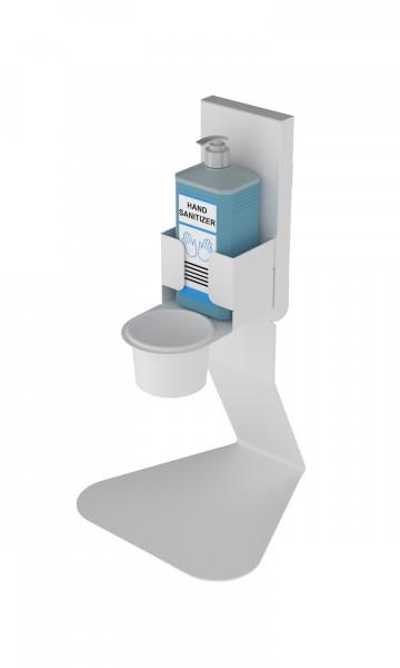 Tafelstandaard met Dispenser (Wit)
