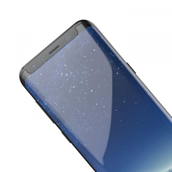 BeHello Samsung Galaxy S8 Screenprotector Tempered Glass - High Impact Glass