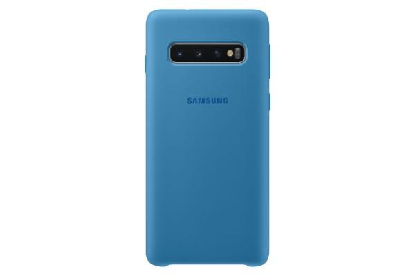 Samsung Galaxy S10 Silicone Cover Blauw