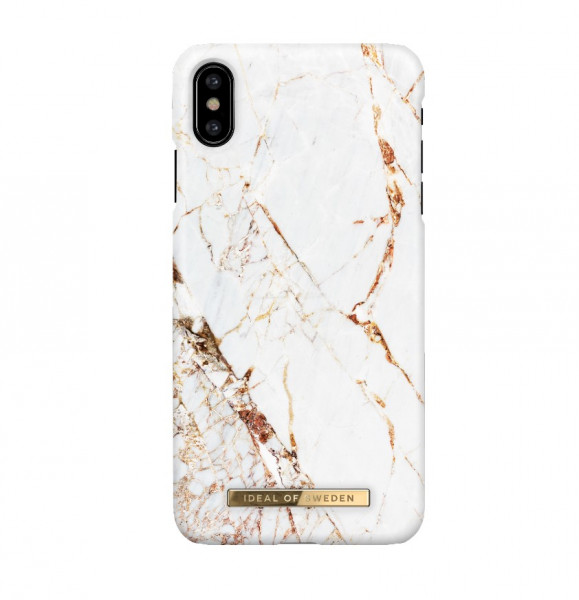 iDeal of Sweden iPhone X Fashion Case Carrara Gold