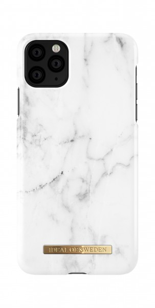 iDeal of Sweden iPhone 11 Pro Max Fashion Case White Marble