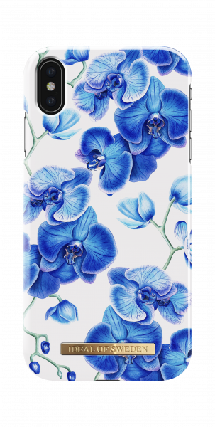 iDeal of Sweden iPhone XS Max Fashion Back Case Baby Blauw Orchid
