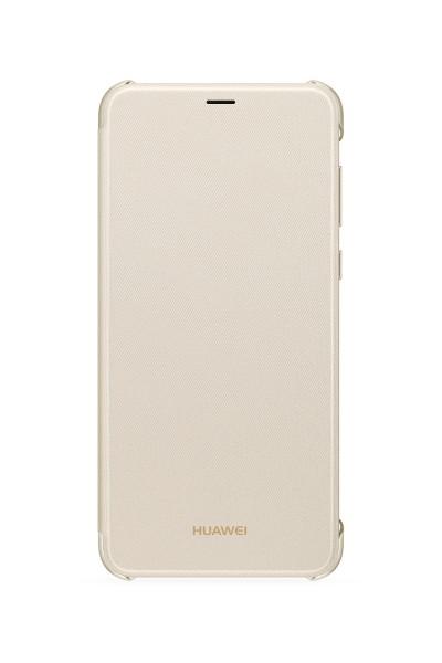 Huawei P smart Flip Cover Book Case Gold