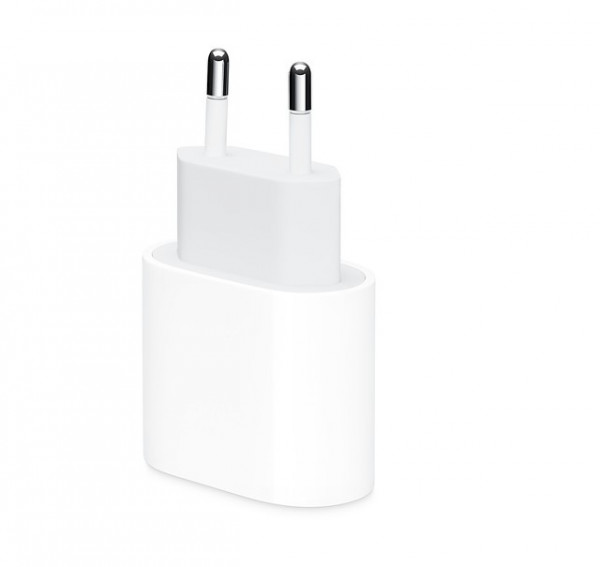 Apple Charger USB-C 20W Power Adapter White