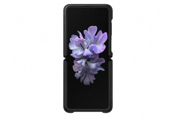 Samsung Galaxy Fold Leather Cover Black