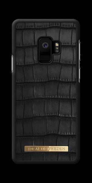 iDeal of Sweden Samsung Galaxy S9 Fashion Case Capri Black Croco