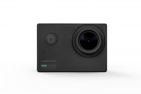 Kaiser Baas Action Camera X220 1080p 30fps 5mp 4G Lens Black