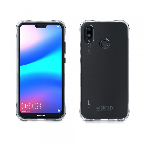 SoSkild Absorb Impact Case Transparant voor Huawei P20 Lite