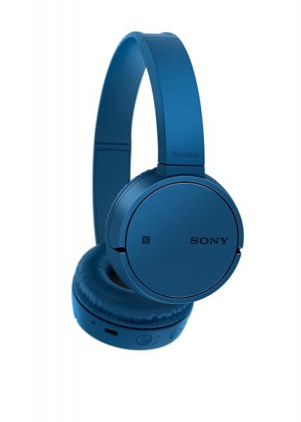 Sony Draadloze Koptelefoon On Ear Blauw