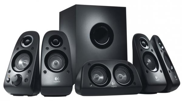 Logitech Surround Sound Speakers Z506 PLUGG UK Black
