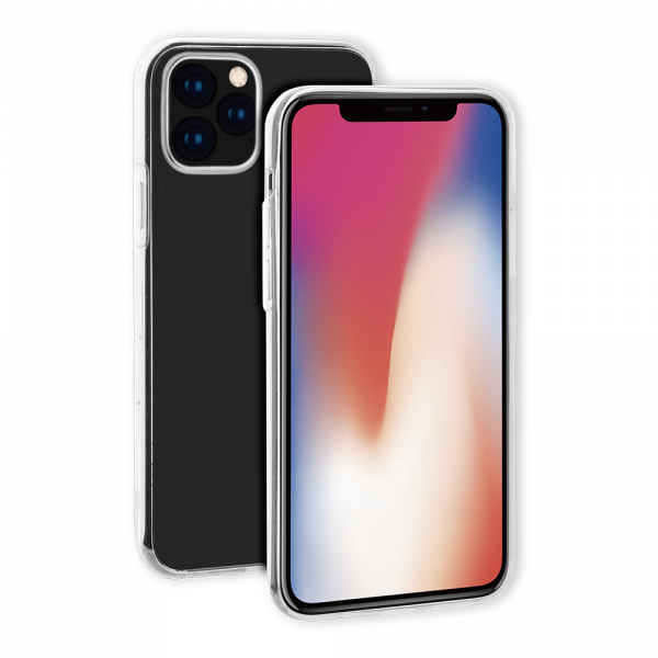 BeHello iPhone 11 Pro Max ThinGel Siliconen Hoesje Transparant