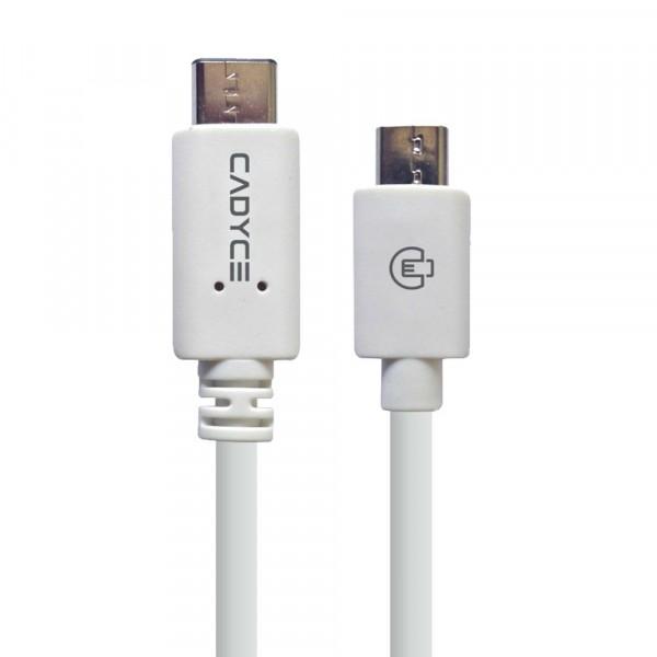 Cadyce USB-C naar Micro USB 2.0 Kabel 480MB/s gegevensoverdracht Stijlvol en compact design 1 m