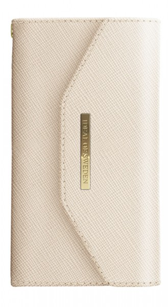 iDeal of Sweden Samsung Galaxy S10+ Mayfair Clutch Beige