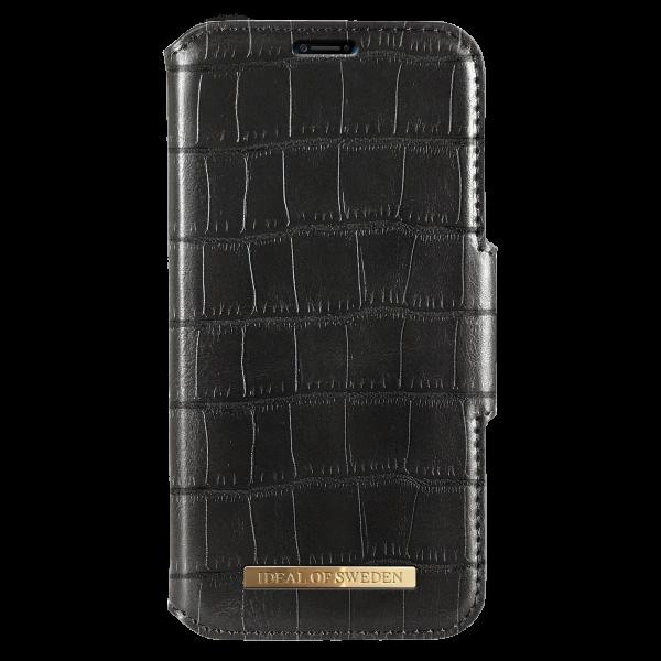 iDeal of Sweden iPhone XS Max Fashion Wallet Capri & Como Black Croco