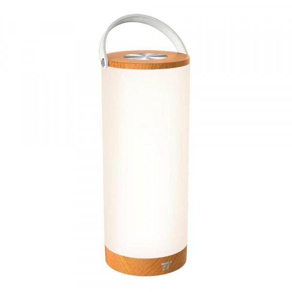 Taotronics Draagbare LED Lamp | Oplaadbaar | 4.000mAh | Wit/Bruin