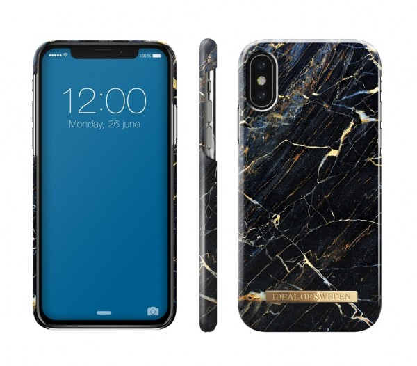 iDeal of Sweden Fashion Back Case Port Laurent Marble voor iPhone Xs X