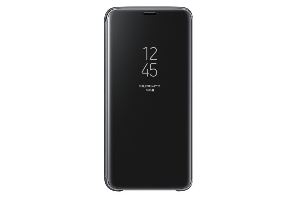 Samsung Clear View Standing Cover Book Case Zwart voor Samsung Galaxy S9