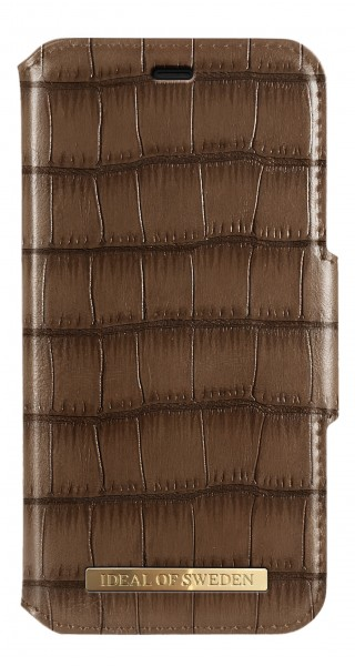 iDeal of Sweden iPhone 11 Fashion Wallet Capri & Como Brown