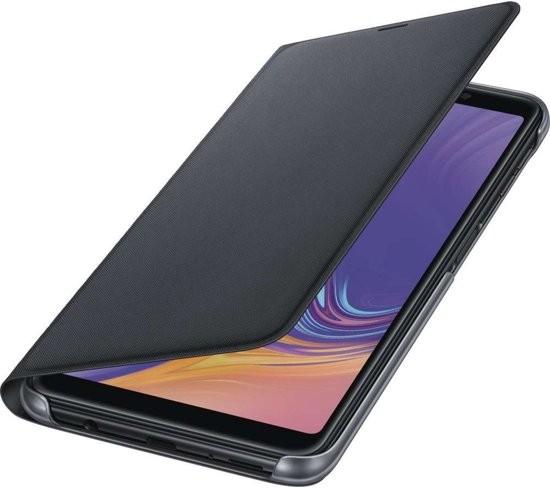 Samsung Galaxy A7 Wallet Cover Black