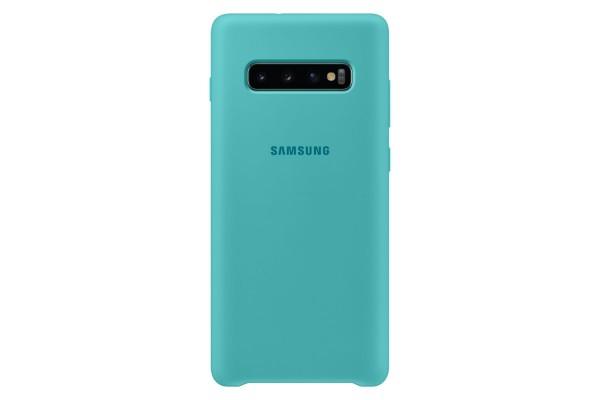Samsung Galaxy S10+ Silicone Cover Green