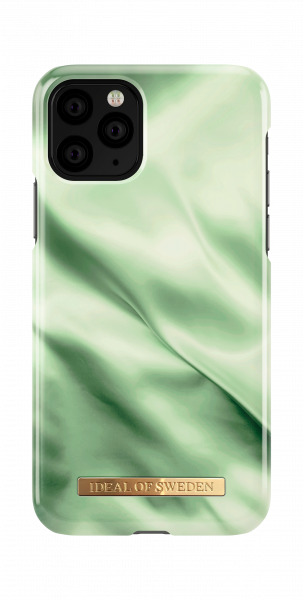 Ideal of Sweden iPhone 11 Pro/XS/X Fashion Back Case Pistachio Satin