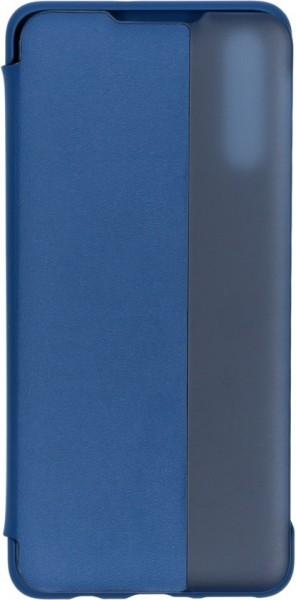 Huawei P30 Lite View Flip Cover Case Blauw