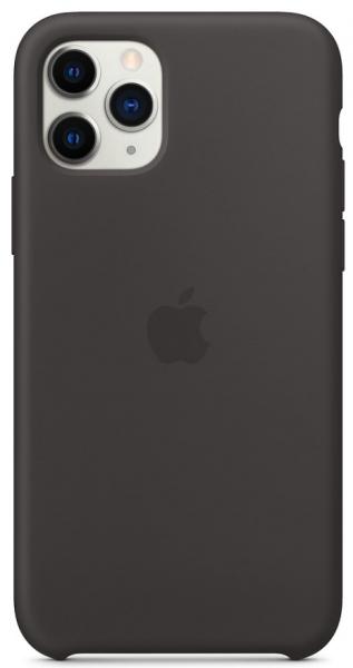 Apple iPhone 11 Pro Back Case Silicone Black
