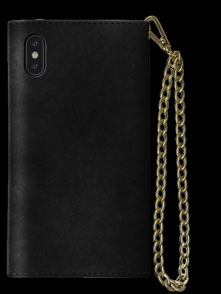iDeal of Sweden iPhone XS Max Mayfair Clutch Velvet Black