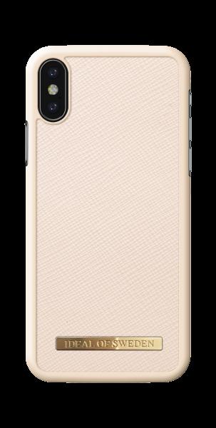 iDeal of Sweden iPhone XS/X Fashion Case Saffiano Beige