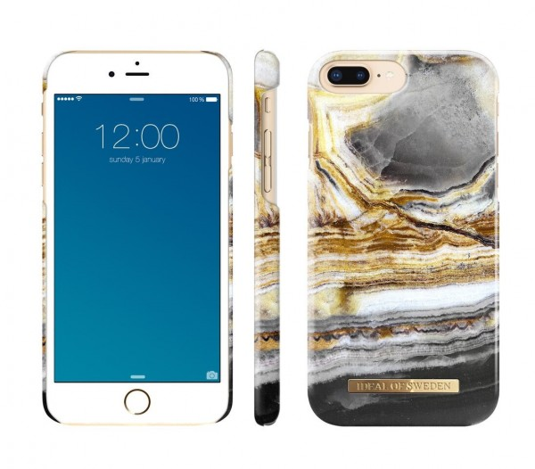 iDeal of Sweden Fashion Back Case Outer Space Agate voor iPhone 8 Plus / 7 Plus / 6S Plus / 6 Plus