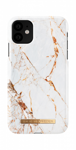 iDeal of Sweden iPhone 11 Fashion Back Case Carrara Gold