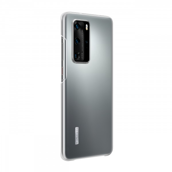 Huawei P40 Pro Silicone Cover Case Transparent