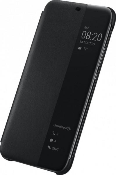 Huawei Mate 20 Lite Flip View Cover Black