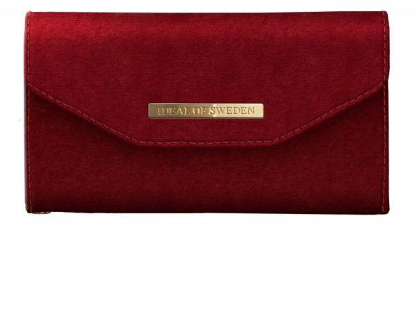 iDeal of Sweden iPhone 8 / 7 / 6S/ 6 Mayfair Clutch Velvet Red