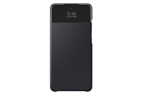 Samsung A52 S View Wallet Cover Case Black
