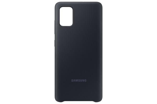 Samsung Galaxy A51 Silicone Cover Case Black