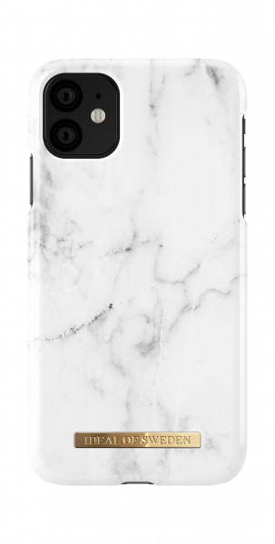 iDeal of Sweden iPhone 11 Fashion Back Case White Marble