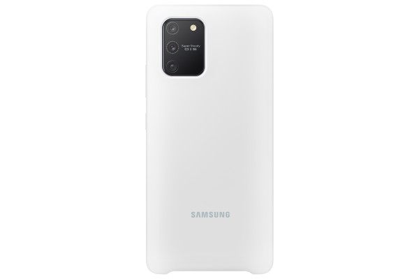 Samsung S10 Lite Silicone Cover White