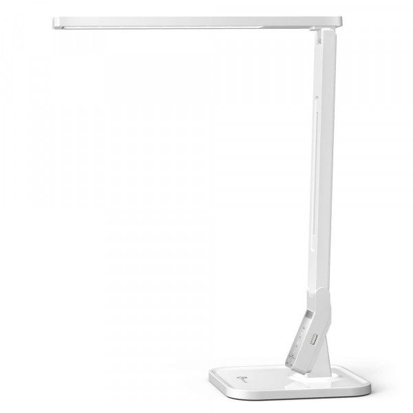 Taotronics LED Bureaulamp | 4 Lichtstanden & 5 Helderheidsniveaus | USB-poort | Wit