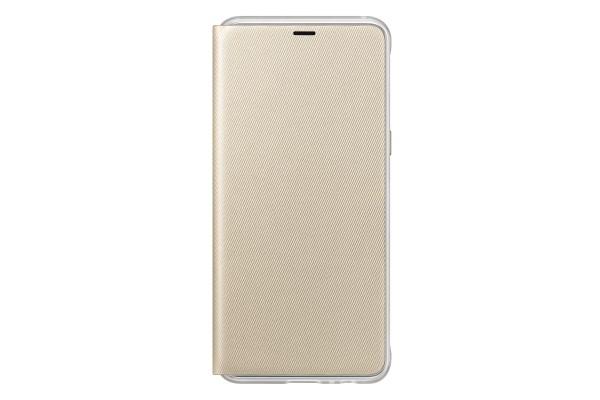 Samsung Galaxy A8 Neon Flip Cover Gold