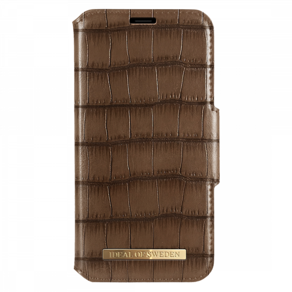 iDeal of Sweden Samsung Galaxy S10e Fashion Wallet Capri & Como Brown Croco