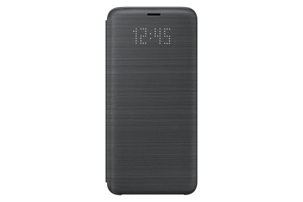 Samsung LED View Cover Book Case Zwart voor Samsung Galaxy S9