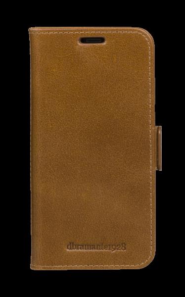 Dbramante1928 iPhone 11 Pro Folio Case Copenhagen Slim Tan