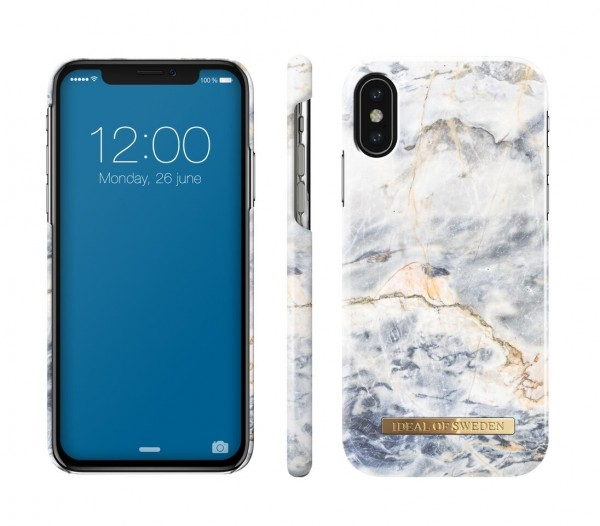 iDeal of Sweden Fashion Back Case Ocean Marble voor iPhone Xs X