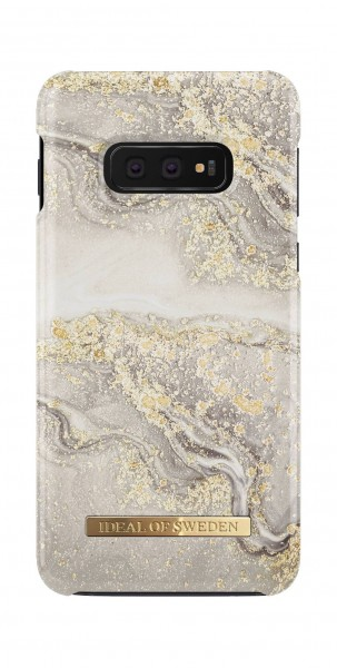 iDeal of Sweden Samsung Galaxy S10e Fashion Back Case Sparkle Greige Marble