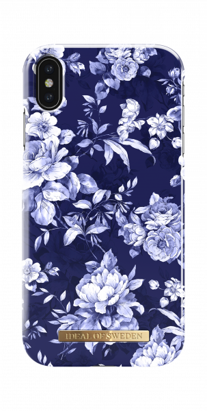 iDeal of Sweden iPhone XS Max Fashion Back Case Sailor Blauw Bloom