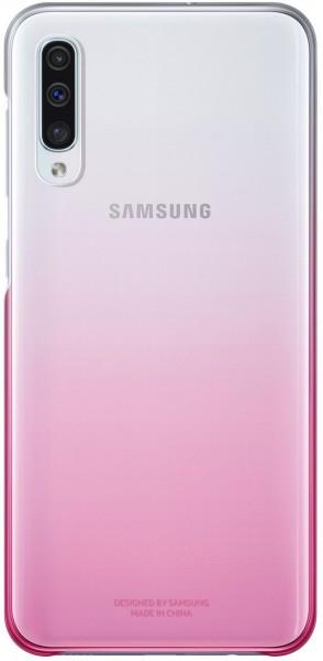 Samsung Galaxy A50 Gradation Clear Cover Pink